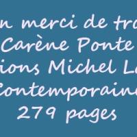 Un merci de trop de Carène Ponte