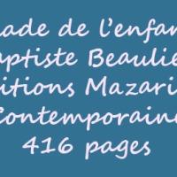 La ballade de l'enfant-gris de Baptiste Beaulieu